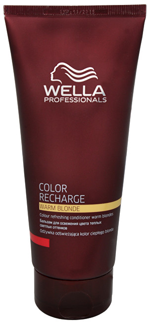 Wella Professionals Balsam de păr pentru regenerarea nuantei calde blonde Color Recharge(Warm Blonde Conditioner) 200 ml