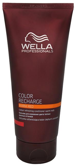 Fotografie Wella Professional Kondicionér pro oživení teplých červených odstínů vlasů Color Recharge (Warm Red