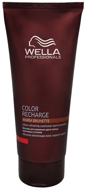 Fotografie Wella Professionals Color Recharge kondicionér pro oživení barvy odstín Warm Brunette 200 ml