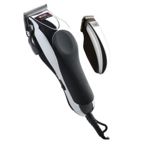 Wahl Káblový zastrihávač vlasov ( Wahl Deluxe Chrome Pro 79524-2716) be204a39e13