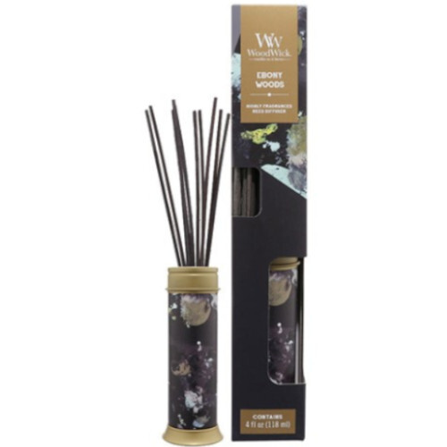 WoodWick Aróma difuzér Ebony Woods 118 ml
