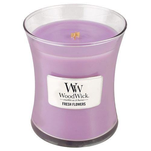 WoodWick Vonná svíčka váza Fresh Flowers 275 g