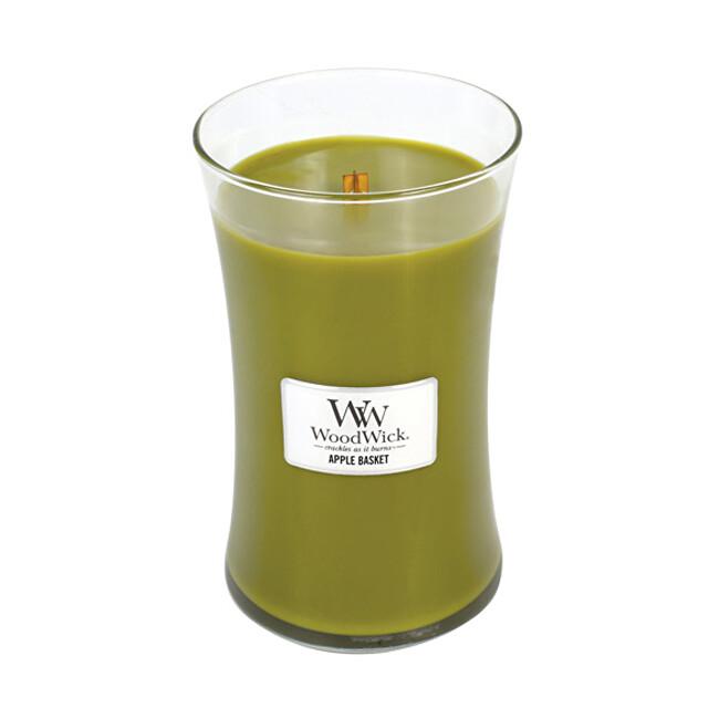 WoodWick Vonná svíčka váza Apple Basket 609 g