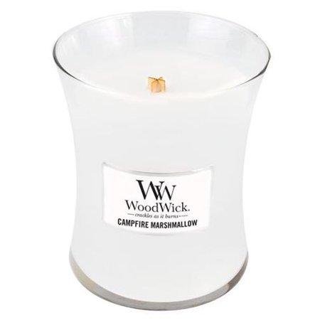 WoodWick Vonná svíčka váza Campfire Marshmallow 275 g