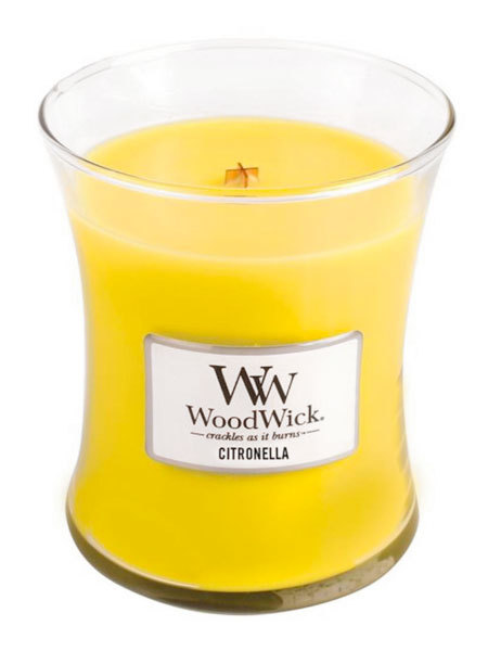 WoodWick Vonná svíčka váza Citronella 275 g