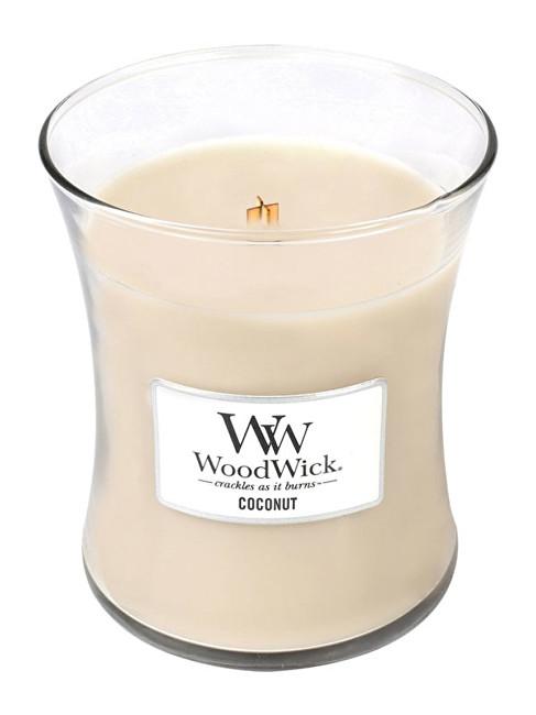 WoodWick Vonná svíčka váza Coconut 275 g