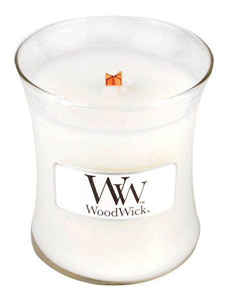 WoodWick Vonná svíčka váza Mint Truffle 85 g