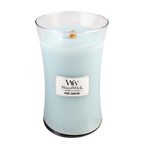 WoodWick Vonná svíčka váza Pure Comfort 609 g
