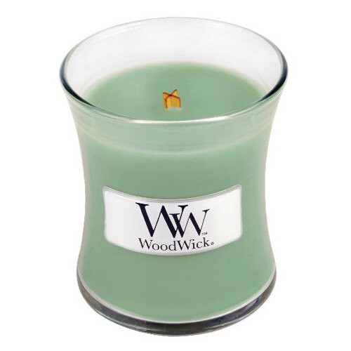 WoodWick Vonná sviečka váza White Willow Moss 85 g