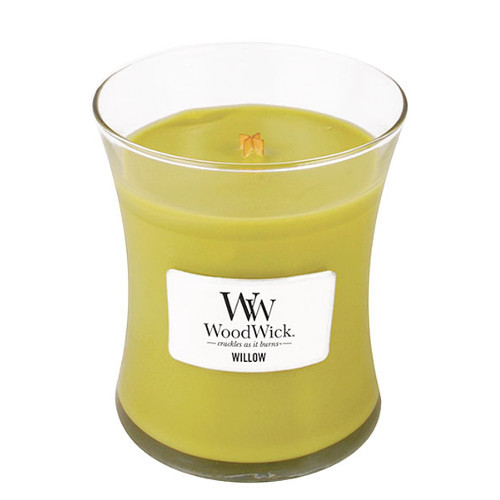 WoodWick Vonná sviečka váza Willow 275 g