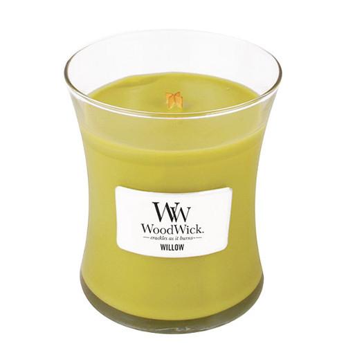 WoodWick Vonná svíčka váza Willow 275 g