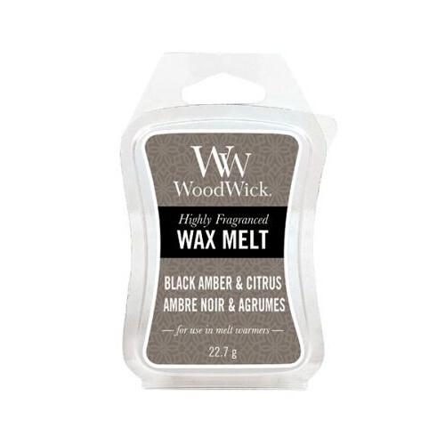 WoodWick Vonný vosk Black Amber & Citrus 22,7 g