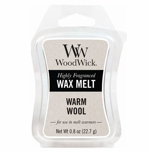 WoodWick Vonný vosk Warm Wool 22,7 g