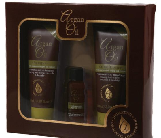 XPel Kosmetická sada vlasové péče Argan Oil