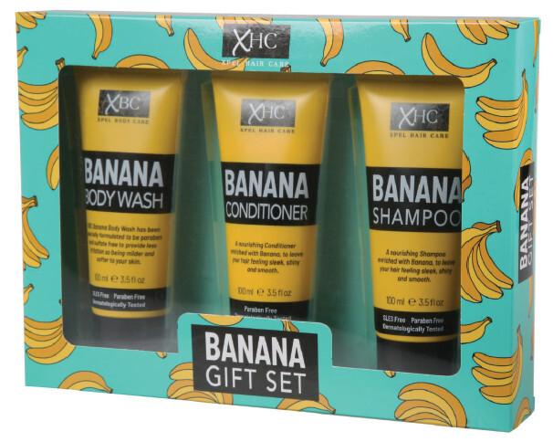 XPel Kosmetická sada vlasové péče Banana