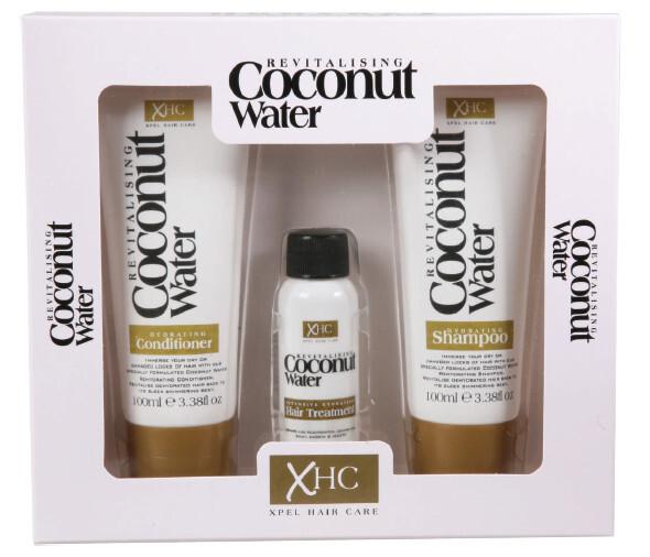 XPel Kosmetická sada vlasové péče Coconut Water