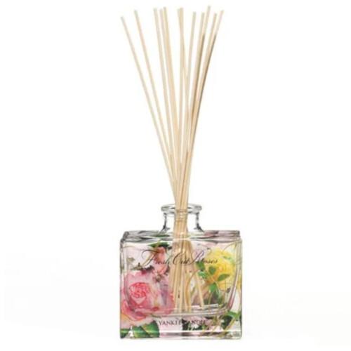 Yankee Candle Aroma difuzér Fresh Cut Roses 88 ml