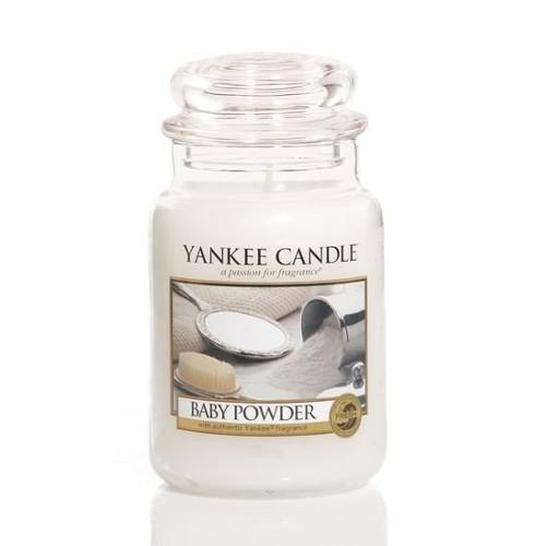 Yankee Candle Aromatická svíčka Candle Classic velký Baby Powder 623 g