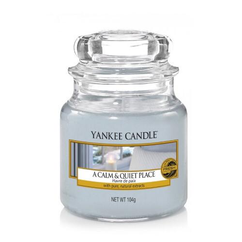 Yankee Candle Aromatická svíčka Classic malá A Calm & Quiet Place 104 g