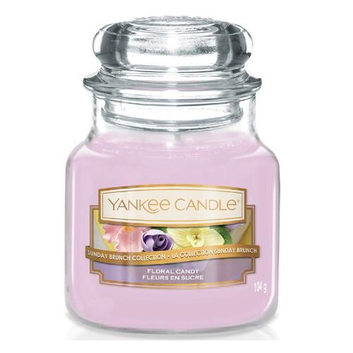 Yankee Candle Aromatická svíčka Classic malá Floral Candy 104 g