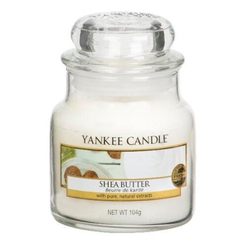 Yankee Candle Aromatická svíčka Classic malá Shea Butter 104 g