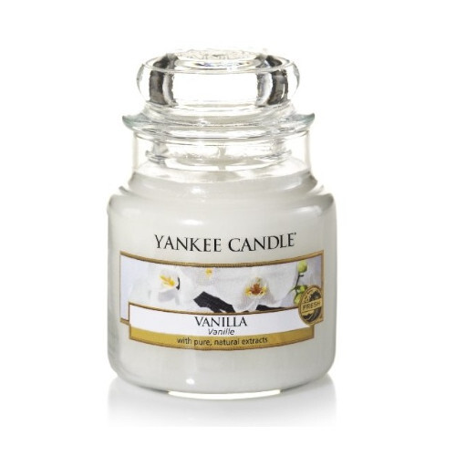 Yankee Candle Aromatická svíčka Classic malá Vanilla 104 g