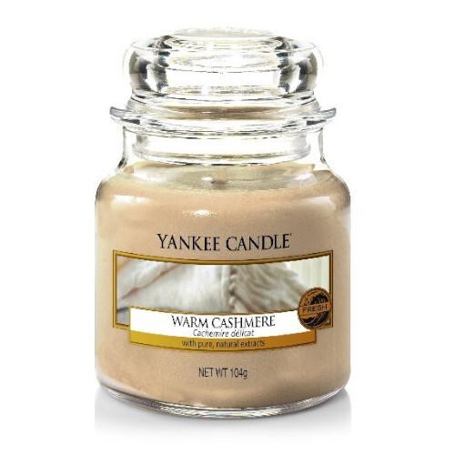 Yankee Candle Aromatická svíčka Classic malá Warm Cashmere 104 g