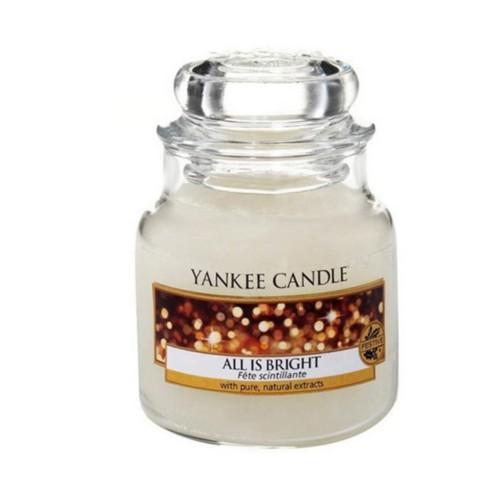 Yankee Candle Aromatická svíčka Classic malý All Is Bright 104 g