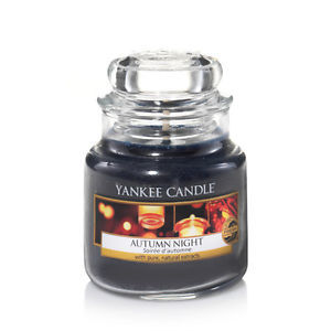 Yankee Candle Aromatická svíčka Classic malý Autumn Night 104 g
