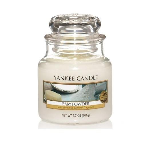 Yankee Candle Aromatická svíčka Classic malý Baby Powder 104 g