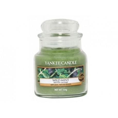 Yankee Candle Aromatická svíčka Classic malý Wild Mint 104 g