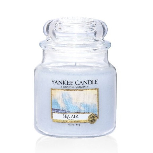 Yankee Candle Aromatická svíčka Classic střední Mořský vzduch Sea Air 411 g