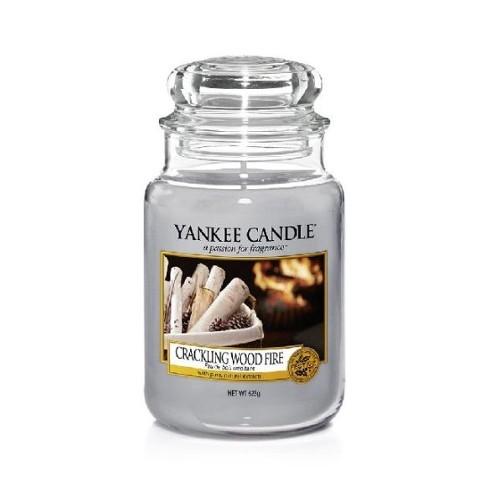 Yankee Candle Aromatická svíčka Classic velký Crackling Wood Fire 623 g