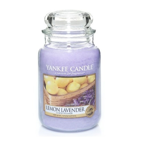 Yankee Candle Aromatická svíčka Classic velký Lemon Lavender 623 g