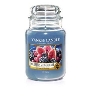 Yankee Candle Aromatická svíčka Classic velký Mulberry & Fig Delight 623 g