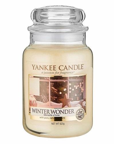 Yankee Candle Aromatická svíčka Classic velký Winter Wonder 623 g