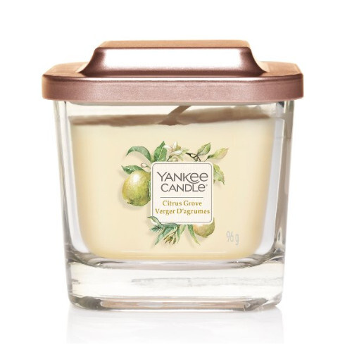 Yankee Candle Aromatická svíčka malá hranatá Citrus Grove 96 g