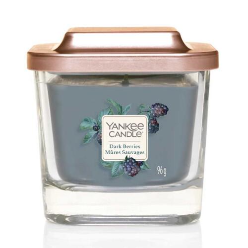 Yankee Candle Aromatická svíčka malá hranatá Dark Berries 96 g