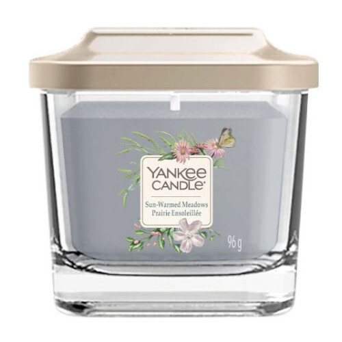 Yankee Candle Aromatická svíčka malá hranatá Sun-Warmed Meadows 96 g