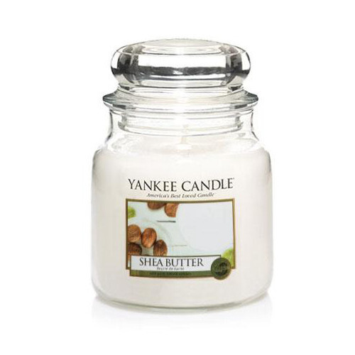 Yankee Candle Aromatická svíčka Shea Butter 411 g