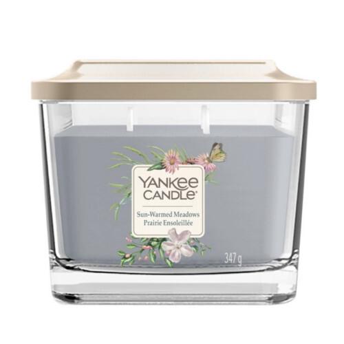Yankee Candle Aromatická svíčka střední hranatá Sun-Warmed Meadows 347 g