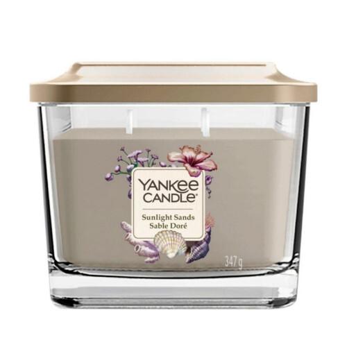 Yankee Candle Aromatická svíčka střední hranatá Sunlight Sands 347 g
