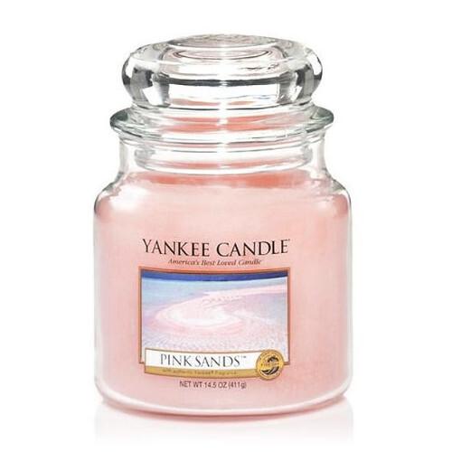 Yankee Candle Aromatická svíčka střední Pink Sands 411 g