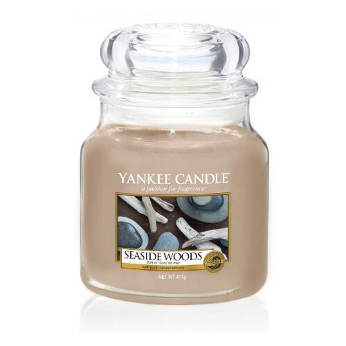 Yankee Candle Aromatická svíčka střední Seaside Woods 411 g