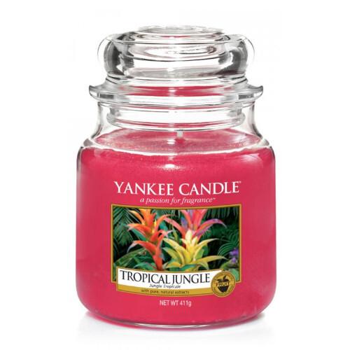 Yankee Candle Aromatická svíčka střední Tropical Jungle 411 g