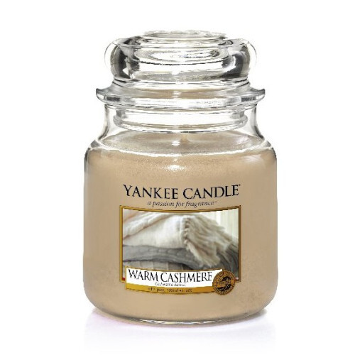 Yankee Candle Aromatická svíčka střední Warm Cashmere 411 g