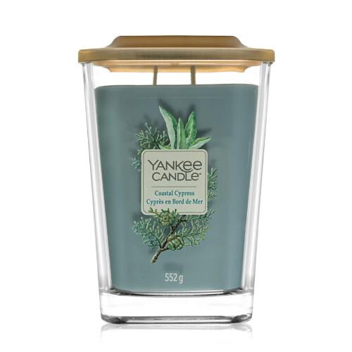 Yankee Candle Aromatická svíčka velká hranatá Coastal Cypress 552 g