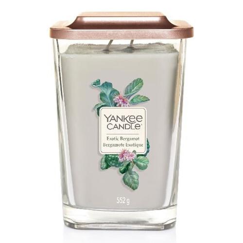 Yankee Candle Aromatická svíčka velká hranatá Exotic Bergamot 552 g