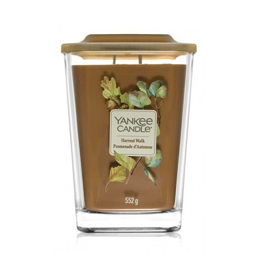 Yankee Candle Aromatická svíčka velká hranatá Harvest Walk 552 g