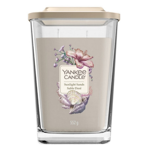 Yankee Candle Aromatická svíčka velká hranatá Sunlight Sands 552 g